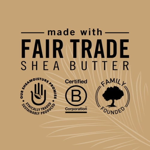 Shea Moisture® Silicone-Free 100% Virgin Coconut Oil Leave-in Conditioner Treatment for All Hair Perspective: right