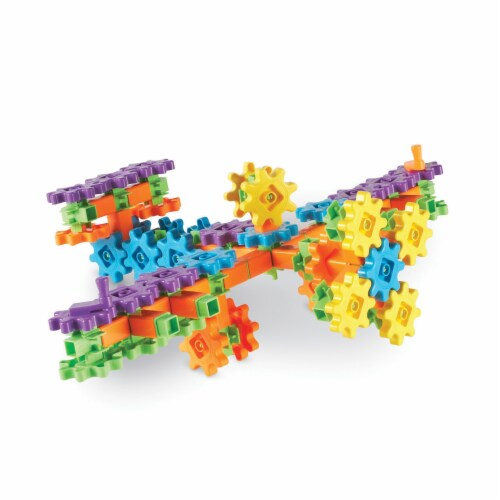 Learning Resources® Gears! Gears! Gears! Super Building Set Perspective: right