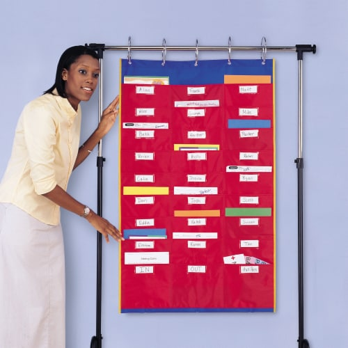 Learning Resources® Organization Station Pocket Chart Perspective: right