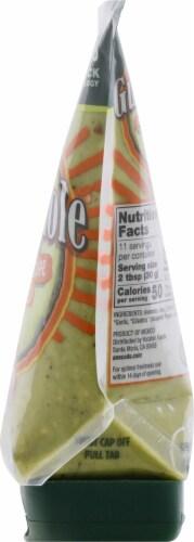 Yucatan Mild Authentic Recipe Squeeze Guacamole Perspective: right