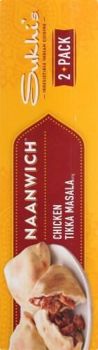 Sukhi's Chicken Tikka Masala Naanwich Perspective: right