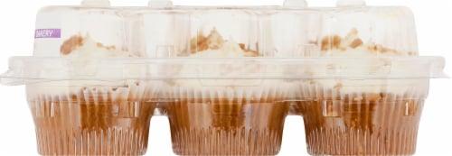 Two-Bite Mini Carrot Cake Premium Cupcakes Perspective: right