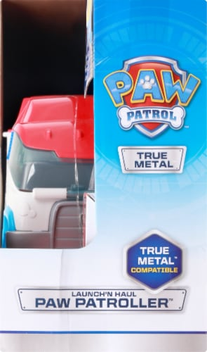 Spin Master Paw Patrol Die Cast Launch N Hauler Vehicle Perspective: right