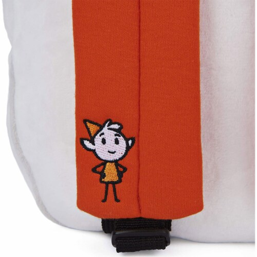 GUND 13 Inch Hilda Twig Soft Plush Kids Stuffed Animal School Backpack, White Perspective: right