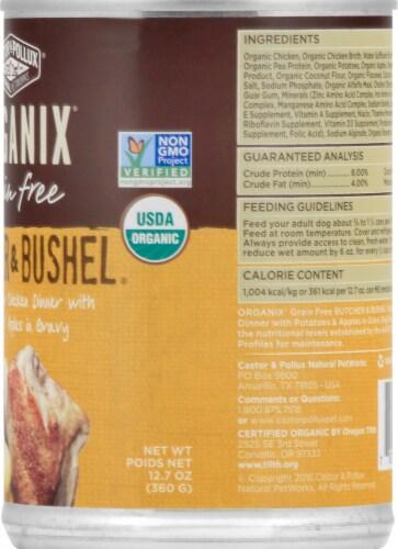 Castor & Pollux Organix Butcher & Bushel Chicken & Apples Dog Food Perspective: right