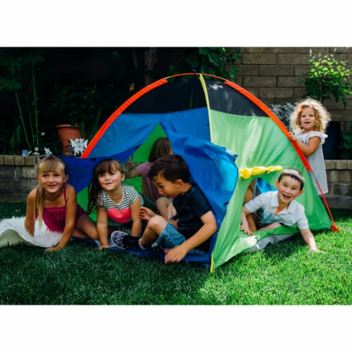 Pacific Play Tents Super Duper Dome Tent Perspective: right