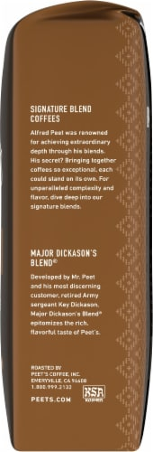 Peet's Coffee Major Dickason's Blend Dark Roast Ground Coffee Perspective: right