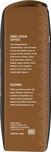 Peet's Coffee Single Origin Colombia Dark Roast Ground Coffee Perspective: right
