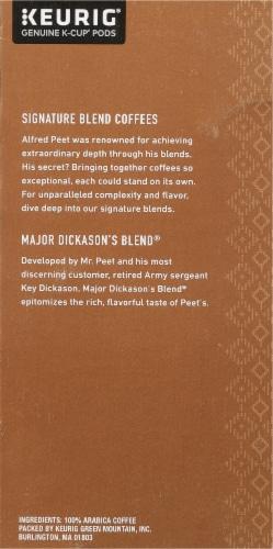Peet's Coffee Major Dickason's Blend Dark Roast K-Cup Pods Perspective: right