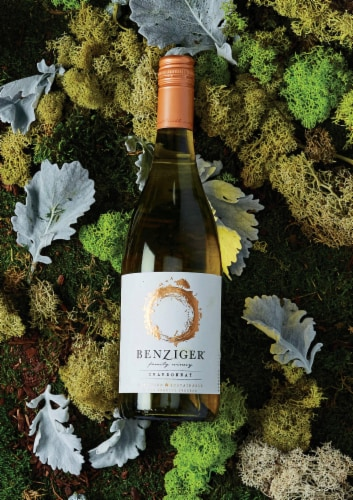Benziger Chardonnay White Wine Perspective: right