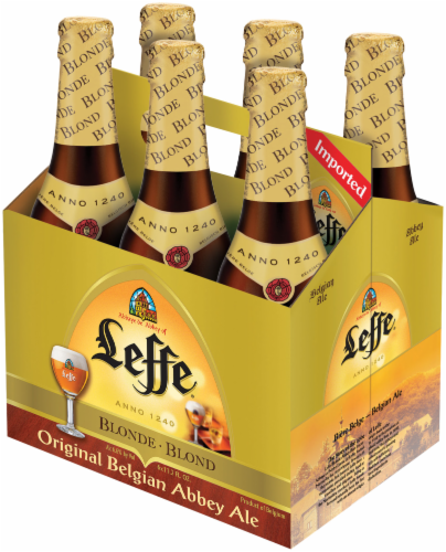 Leffe Blonde Belgian Abbey Ale Perspective: right