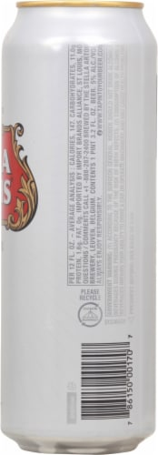 Stella Artois® Belgium Imported Lager Perspective: right