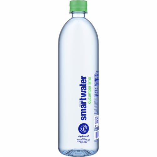 Smartwater Cucumber Lime Bottle Perspective: right