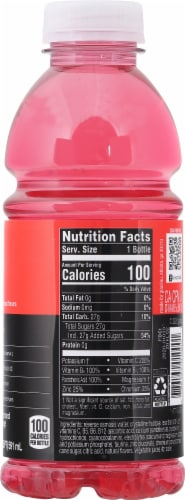Vitaminwater Power-C Dragonfruit Flavored Nutrient Enhanced Water Beverage Perspective: right