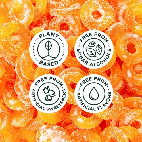 SmartSweets SMART SWEETS Peach Rings, 1.8 OZ (Pack of 12) Perspective: right