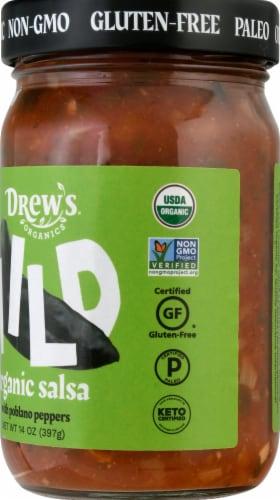 Drew's Organics Mild Salsa Perspective: right