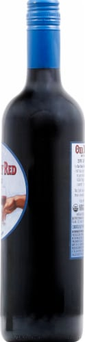 Our Daily Red Organic Red Blend Wine Perspective: right
