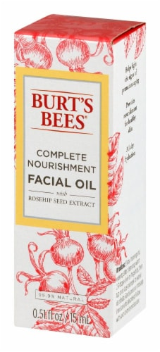 Burt's Bees Complete Nourishment Facial Oil With Rosehip Seed Extract Perspective: right