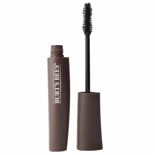 Burt's Bees All Aflutter 1810 Black Brown Multi-Benefit Mascara Perspective: right
