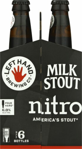 Left Hand Brewing Co. Nitro Milk Stout Perspective: right