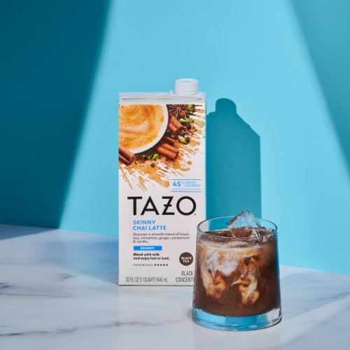 Tazo Chai Skinny Latte Black Tea Concentrate Perspective: right