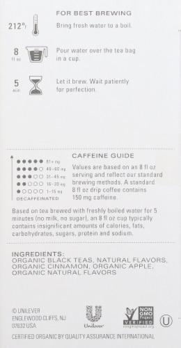 Tazo Organic Peach Cobbler Black Tea Perspective: right