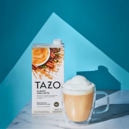 Tazo Classic Chai Latte Black Tea Concentrate Perspective: right