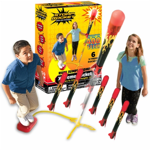 Stomp Rocket X-Treme Rocket Launcher Toy Perspective: right
