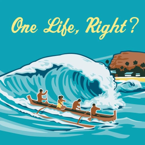 Kona Brewing Co. Big Wave Golden Ale Perspective: right