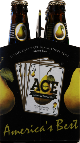 Ace Fermented Pear Cider Perspective: right