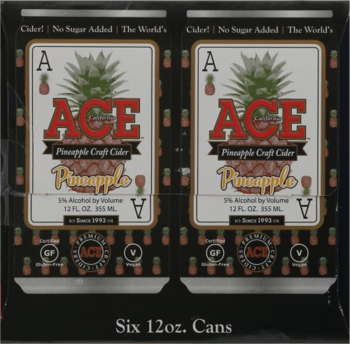 Ace Pineapple Cider Perspective: right