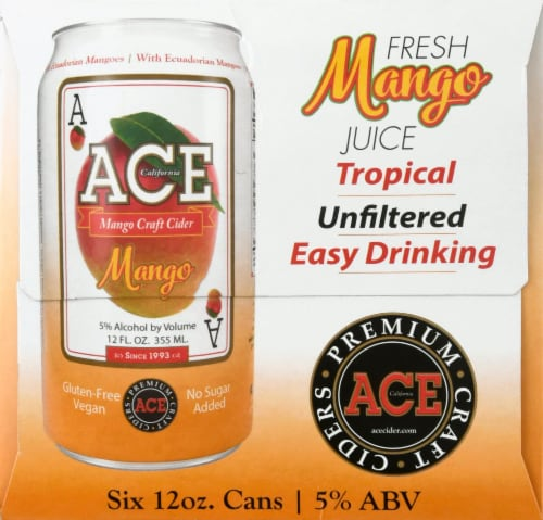 Ace Mango Craft Cider Perspective: right
