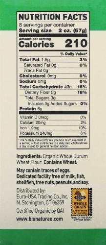 Bionaturae Organic Whole Wheat Fusilli Perspective: right