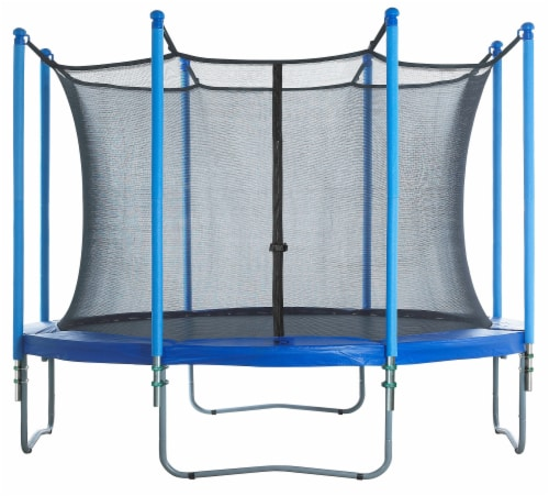 Round Trampoline Enclosure Set ONLY, to fit 12 FT. for 4 or 8 W-Shaped Legs Perspective: right