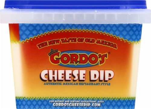 Gordo's Original Mexican Resturant Style Cheese Dip Perspective: right