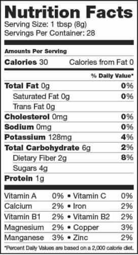 Sunfood Raw Organic Red Maca Powder Perspective: right