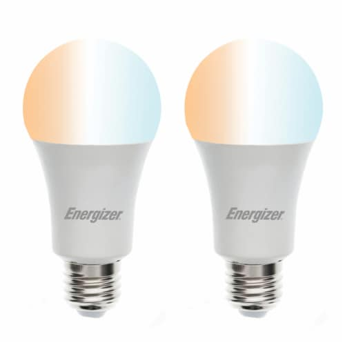 800-Lumen Smart Wi-Fi Bright Multiwhite LED Bulbs, 2 Pack Perspective: right