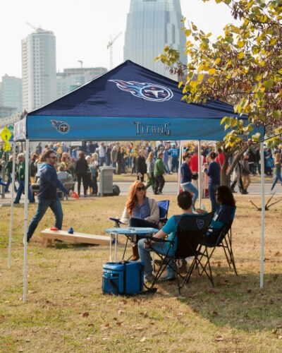 Tennessee Titans Tent Perspective: right
