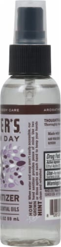 Mrs. Meyer's Clean Day Lavender Scented Hand Sanitizer Perspective: right
