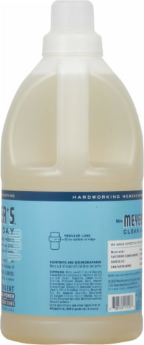 Mrs. Meyer's Clean Day Rain Water Liquid Laundry Detergent Perspective: right