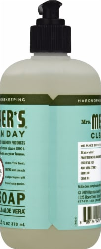 Mrs. Meyer's Clean Day Basil Liquid Hand Soap Perspective: right