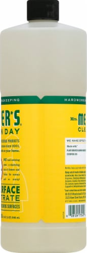 Mrs. Meyer's Clean Day Honeysuckle Scent Multi-Surface Concentrate Perspective: right