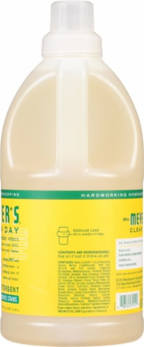 Mrs. Meyer's Clean Day Honeysuckle Laundry Detergent Perspective: right