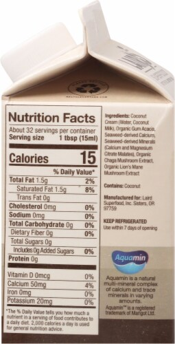 Laird Superfood Unsweetened Superfood Creamer Perspective: right