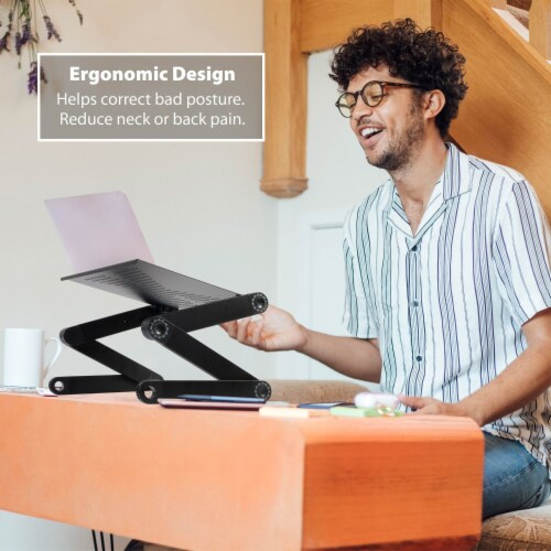 Ihip Adjustable Portable Laptop Table Stand Perspective: right