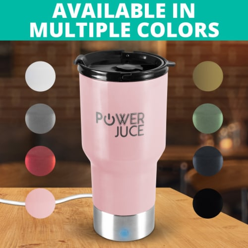 Portable Tumbler With Power Bank Perspective: right