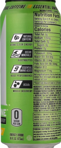 Adrenaline Shoc Smart Energy Sour Candy Energy Drink Perspective: right