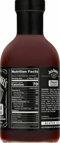 Jack Daniel's Old No. 7 Original BBQ Sauce Perspective: right