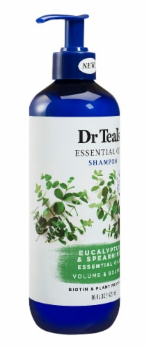 Dr Teal's Eucalyptus/Spearmint Volume & Bounce Shampoo Perspective: right