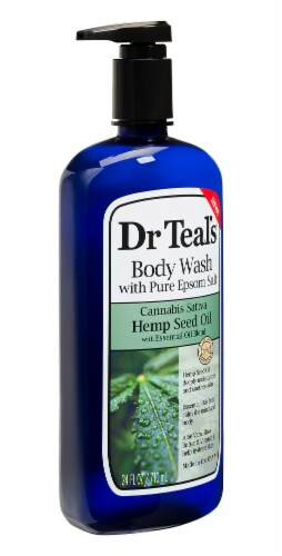 Dr Teal's Hemp Seed Oil Body Wash Perspective: right